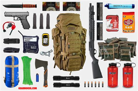53 essential bug out bag supplies how to build a suburban go bag you can rely upon books bug out bag 7 gearmoose