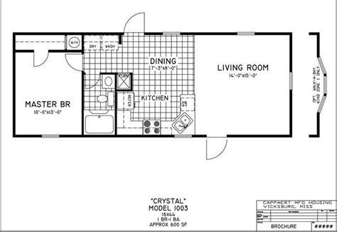 small portable house plans inspirational small mobile home floor plans new home plans design