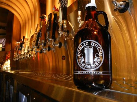 beer house las vegas public house brings home the beer with new growlers las vegas weekly