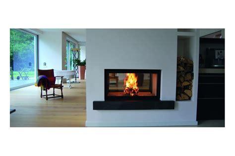 sided wood fireplace sided wood fireplace by spartherm selector