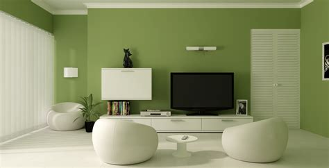 living rooms with green paint home design