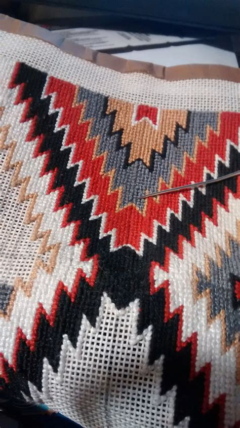 cross stitch rug navajo rug 1 2 cross stitch counted pattern only