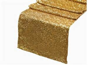 Gold Table Runners by Free Shipping