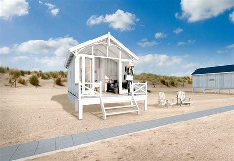 sulla spiaggia bungalow sulla spiaggia in olanda decor italia