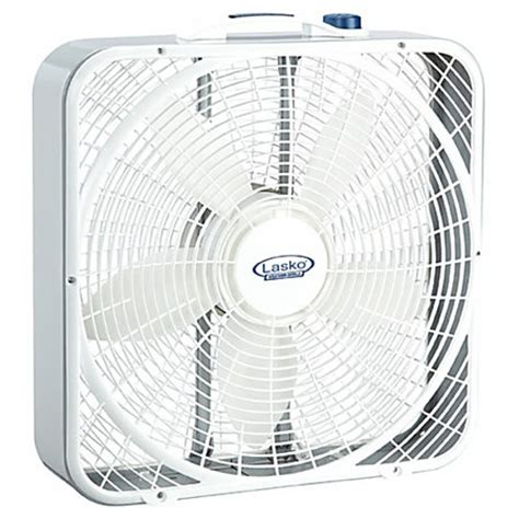 lasko 3720 premium weather shield box fan by office depot