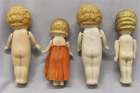 kewpie doll value 4 vintage japanese bisque kewpie dolls