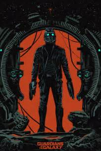 Exclusive mondo poster debut for guardians of the galaxy s star lord