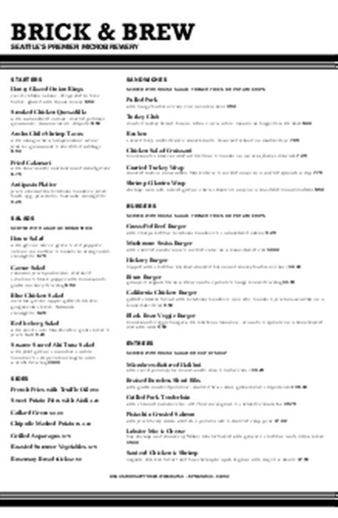 English Pub Menu | Design Templates by MustHaveMenus