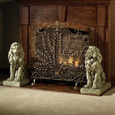 fancy fireplace screens decorative fireplace screen on custom fireplace quality