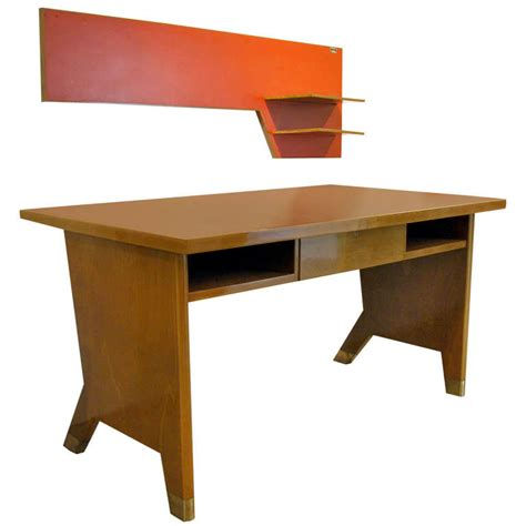 gio ponti desk and wall shelf on antique row west