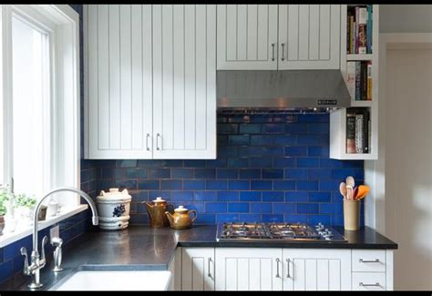 Kitchen Backsplash Trends greek blue amp how to use it dream house dream kitchens
