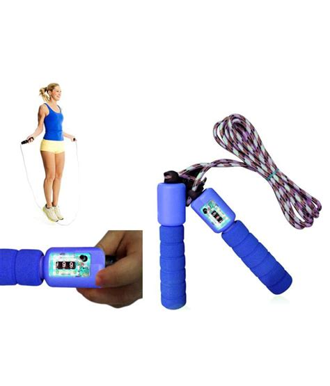 Skipping Rope With Counters accedre skipping rope with counter buy at best price on snapdeal