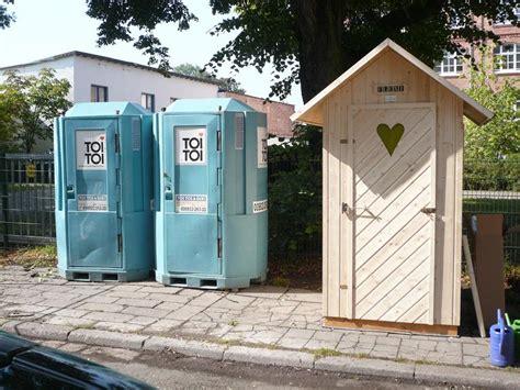 toilettenhaus garten flexi gartentoilette