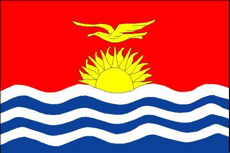cia the world factbook 2002    flag of kiribati