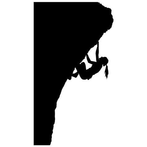 Monkey Wall Murals rock climbing wall sticker decal 12 sports silhouette