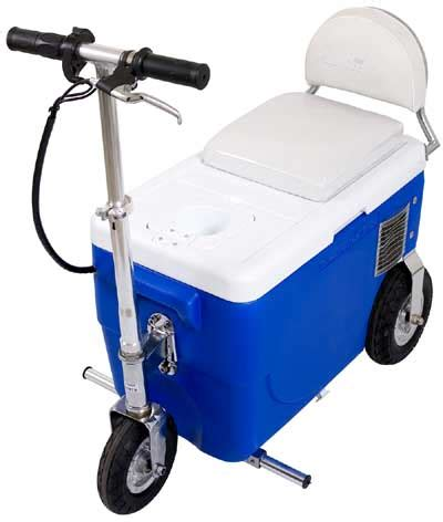 motorized chest cooler scooter x treme x 50 500 electric cooler scooter