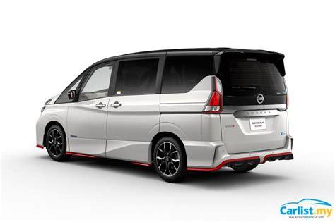 Serena Auto by Tokyo 2017 Nissan To Unveil 2018 Serena Nismo Mpv Auto