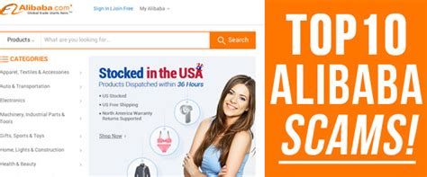 alibaba listing top 10 scams on alibaba com