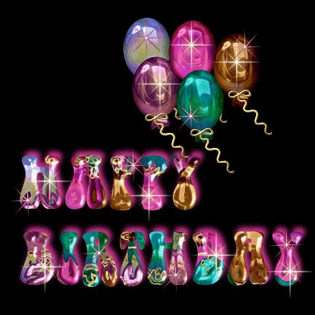 animated birthday pictures pictures animations happy birthday myspace cliparts