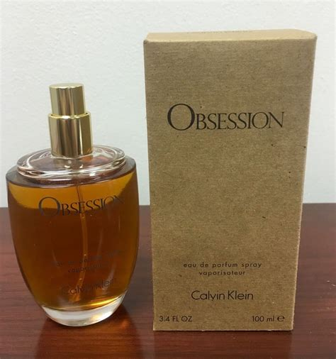 obsession for by calvin klein 100ml 3 4oz eau de parfum tester ebay