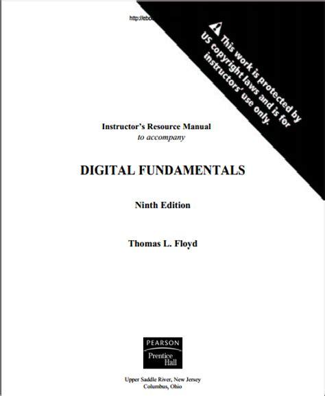 Digital Fundamentals 9th Edition Solution Manual By Thomas