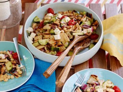 greek salad ina garten greek panzanella recipe ina garten food network