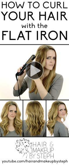 easy hairstyles using curling iron 15 best ideas about flat iron waves on pinterest flat