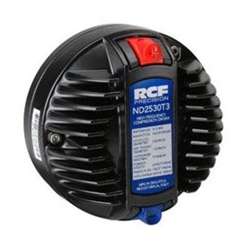 Rcf Nd2530 T3 Neodymium Driver Italy rcf l18p300 nd 18 quot neodymium woofer
