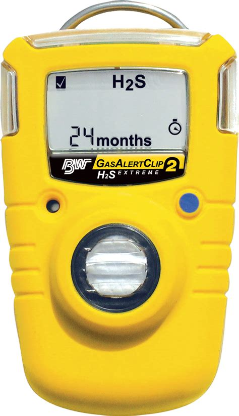 Alarm Gas Detector bw gas alert clip single gas detector