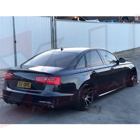 audi return policy audi a6 se c7 2011 2015 to rs6 rear diffuser