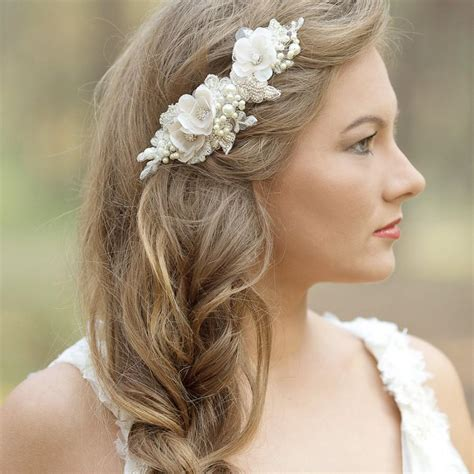 Wedding Hair Pieces by Wedding Hair Accessories Wedding Hair Comb Wedding