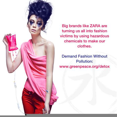 Detox Fashion by Greenpeace On Quot Rt To Tell Zara Detox Our Water