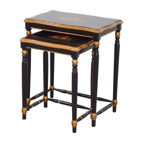 oriental accent tables 80 off oriental accent oriental accent nesting tables