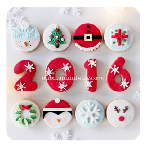 new year cookies 2016 2016 fondant new year cookies atolye