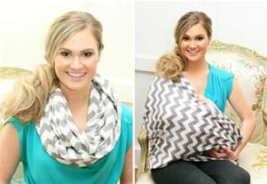 infinity scarf nursing cover project nursery
