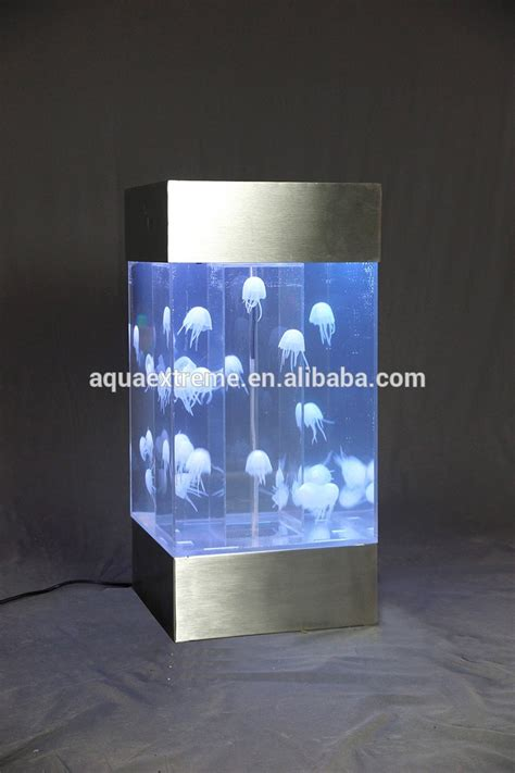 Jellyfish Table L by Wonderfull Table Top Colorful Jellyfish Tank Fish Tank