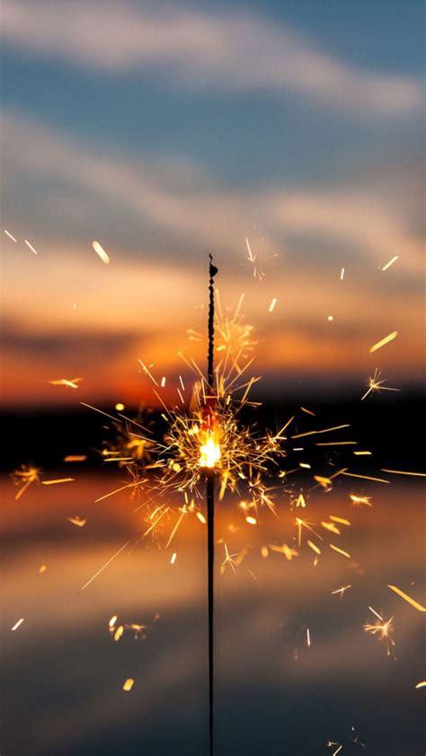 sparkles firework  wallpaper