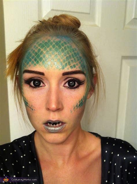 original diy mermaid costume photo
