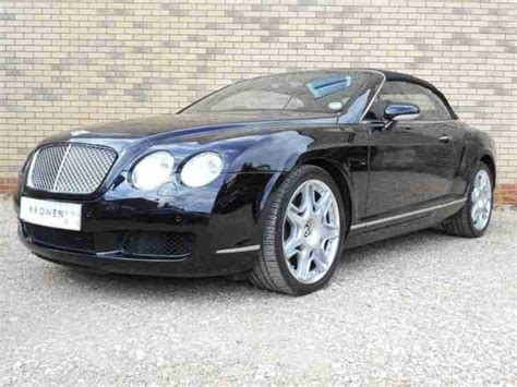 bentley 2008 continental gtc petrol black automatic car for sale