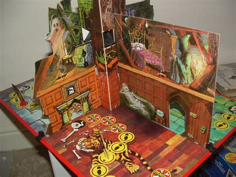 Haunted House Board by The Cobwebbed Room Denys Fisher Haunted House Another