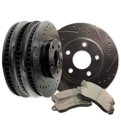 2007 Toyota Tundra Brake Rotors 4 Slotted And Or Drilled Rotors With Brake Pads Toyota Tundra