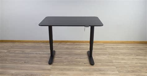 Sit Stand Desk Reviews Ikea Bekant Electric Sit To Stand Desk Review Rating Pricing