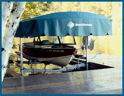 electric boat canopy shorestation canopies and electric motors