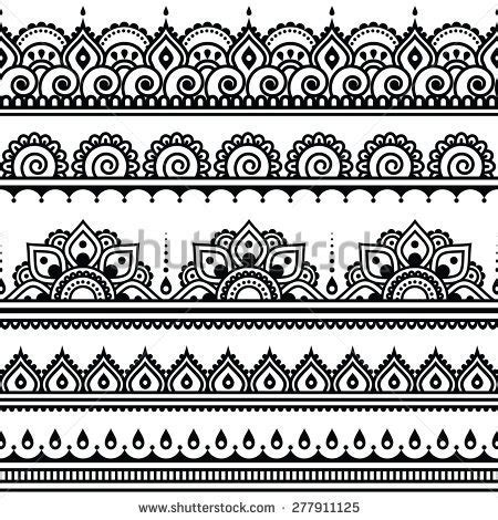 indian henna tattoo tutorial mehndi indian henna seamless pattern design