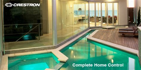 crestron complete home vision living