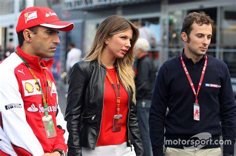 Marc Gene, Ferrari Test Driver with Federica Masolin, Sky