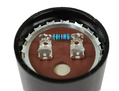 motor start capacitor bleed resistor why the start capacitor has a resistor cinco capacitor china ac capacitors factory