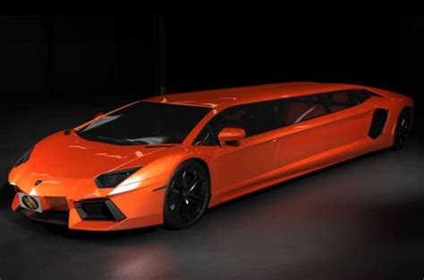 How To Work For Lamborghini The Lamborghini Aventador Limousine Concept Cars