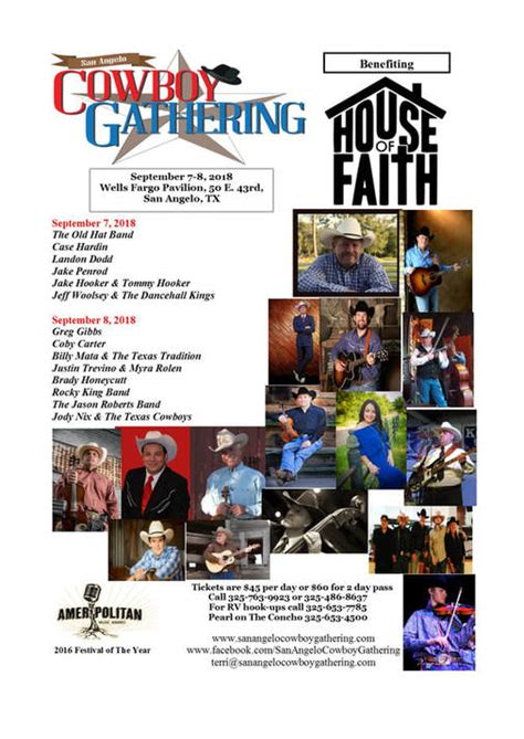 house of faith san angelo san angelo cowboy gathering home