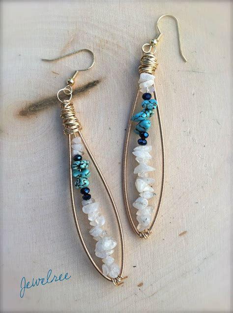 String Earrings - 25 best ideas about guitar string jewelry on
